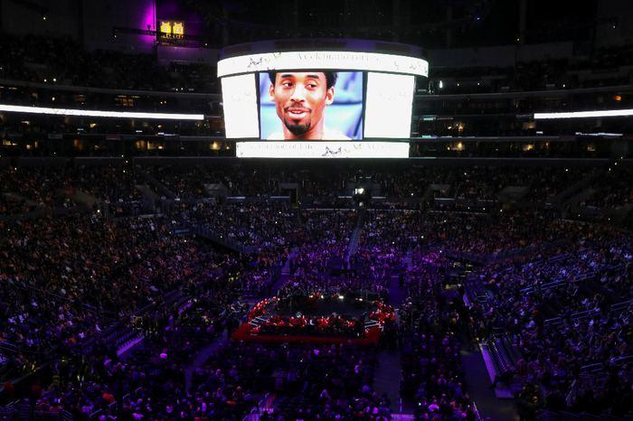 Kobe Bryant ve Kızı İçin Duygusal Tören