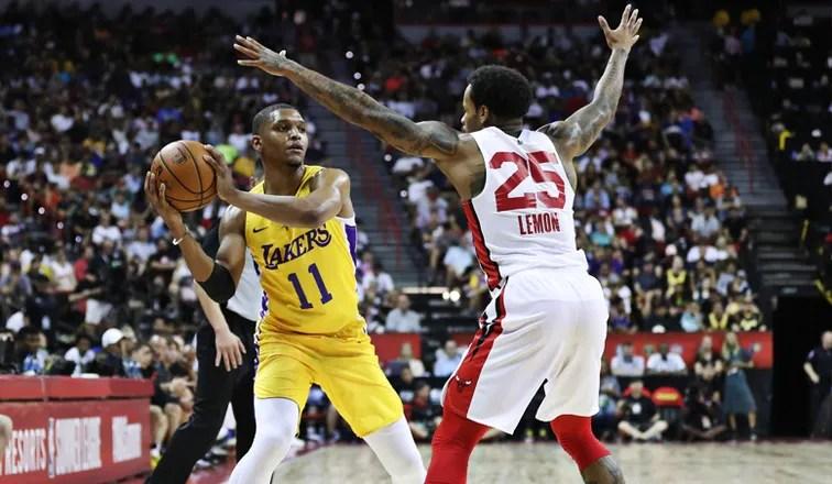 Zach Norvell Jr., Los Angeles Lakers vs Chicago Bulls