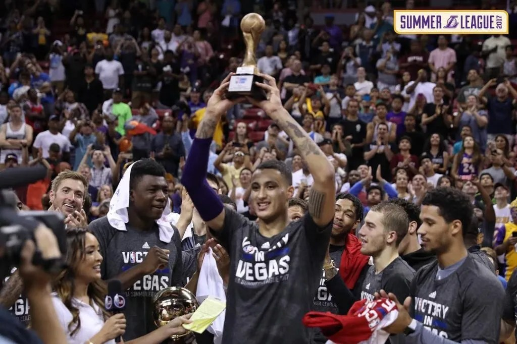 Kyle Kuzma Chosen As Summer League Championship MVP