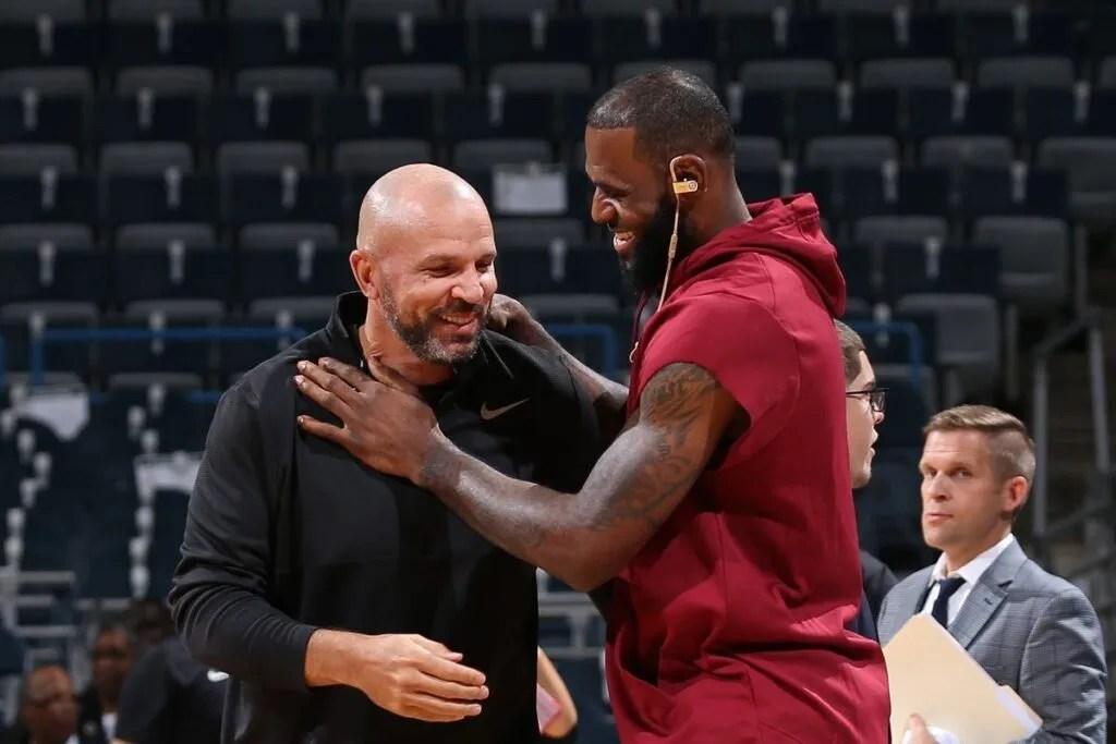 Jason Kidd and LeBron James