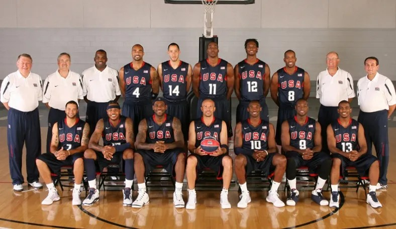 2008 United States men's Olympic basketball team
