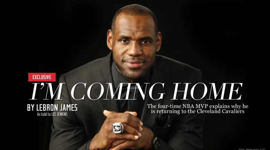 LeBron James, Sports Illustrated
