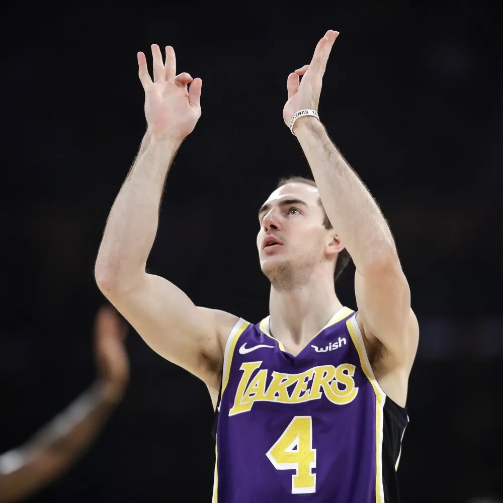 Alex Caruso, Los Angeles Lakers vs Golden State Warriors