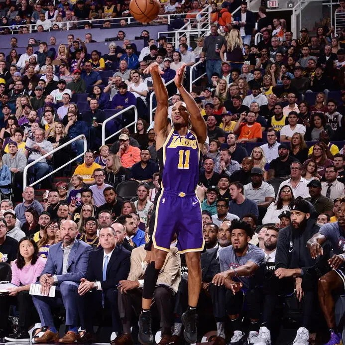 Avery Bradley, Los Angeles Lakers vs Phoenix Suns