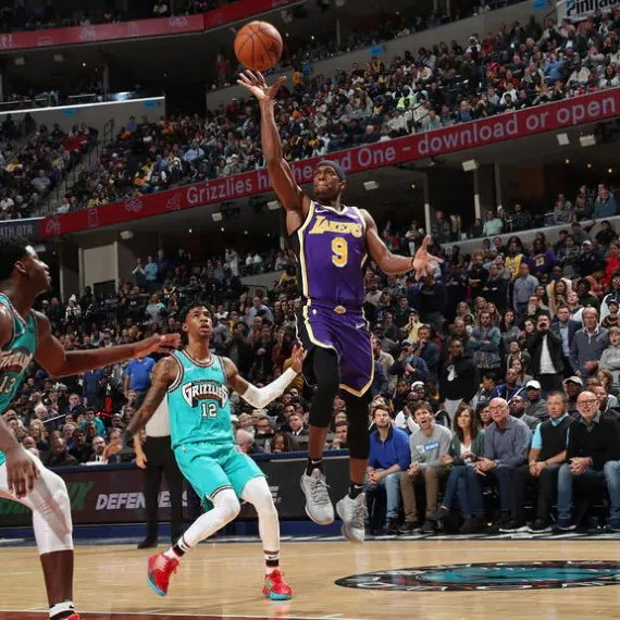 Rajon Rondo, Los Angeles Lakers vs Memphis Grizzlies