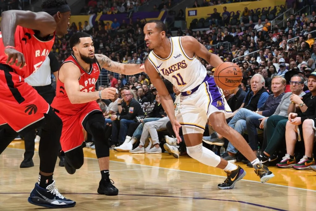 Avery Bradley, Los Angeles Lakers vs Toronto Raptors