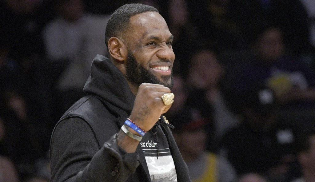 LeBron James, Los Angeles Lakers Denver Nuggets