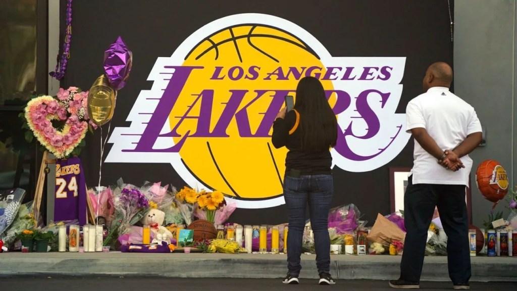 Kobe Bryant memorial, Lakers' practice facility at El Segundo