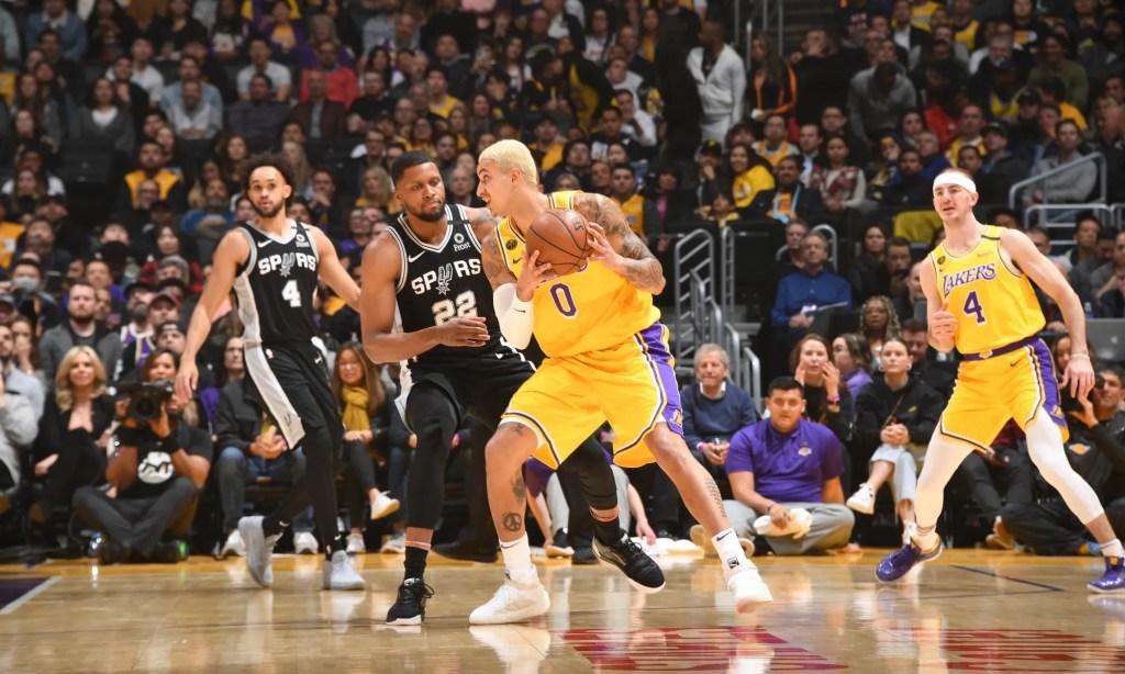 Kyle Kuzma, Los Angeles Lakers vs San Antonio Spurs