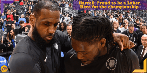 Montretz Harrell ai Los Angeles Lakers