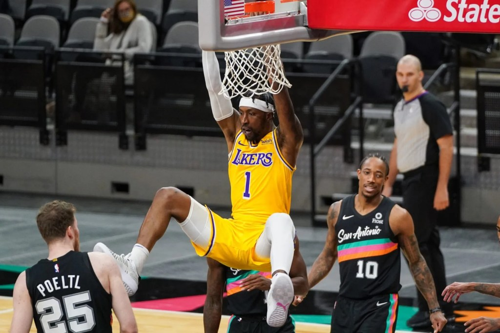 Kentavious Caldwell-Pope, Los Angeles Lakers at San Antonio Spurs