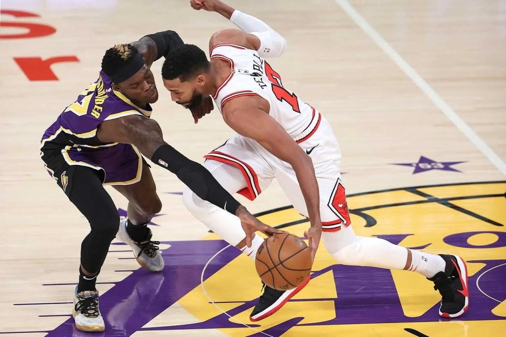 Dennis Schröder, Los Angeles Lakers vs Chicago Bulls