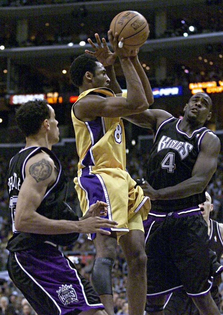 Kobe Bryant and Chris Webber