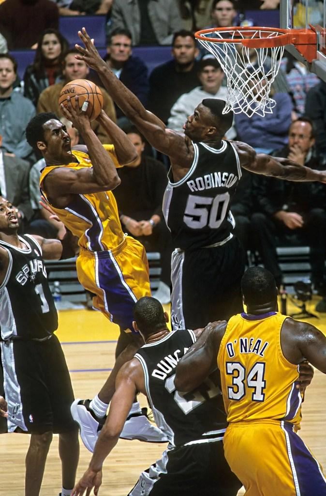Kobe Bryant and David Robinson