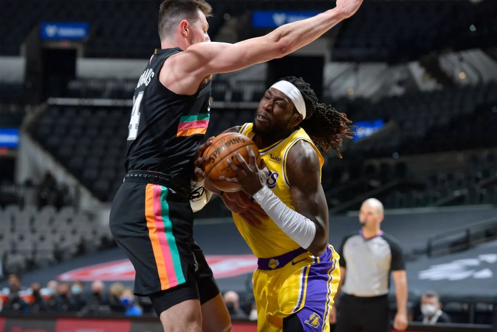Montrezl Harrell, Los Angeles Lakers at San Antonio Spurs