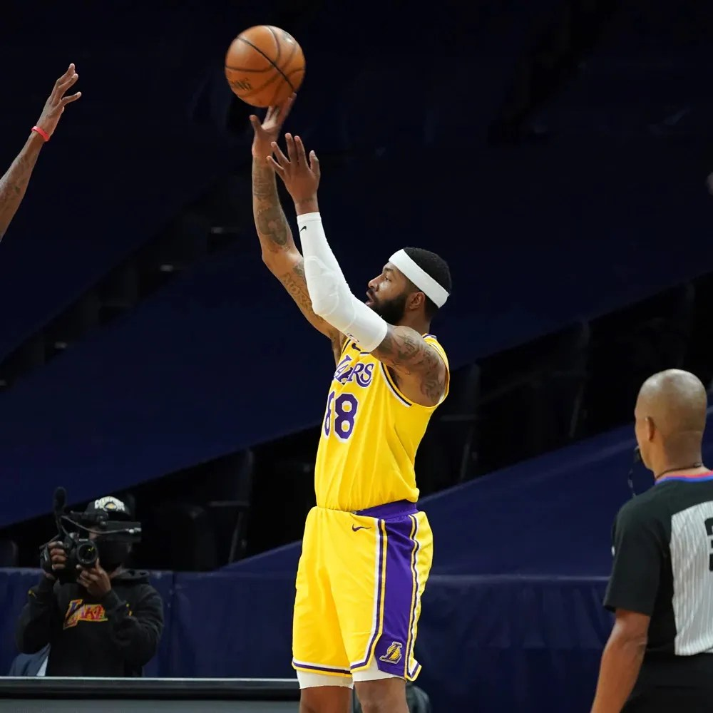 Markieff Morris, Los Angeles Lakers vs Minnesota Timberwolves