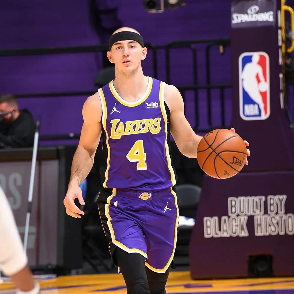 Alex Caruso, Los Angeles Lakers vs the Portland Trail Blazers