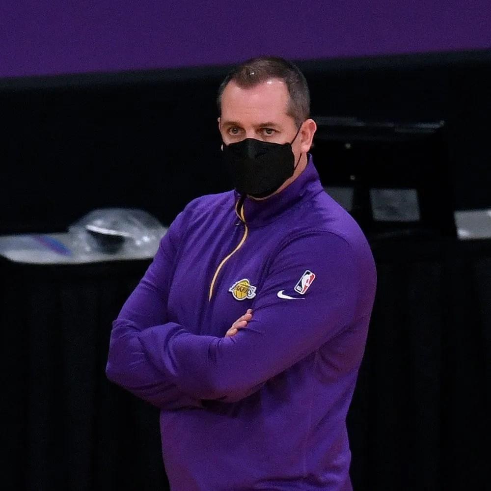 Frank Vogel, Los Angeles Lakers vs the Portland Trail Blazers