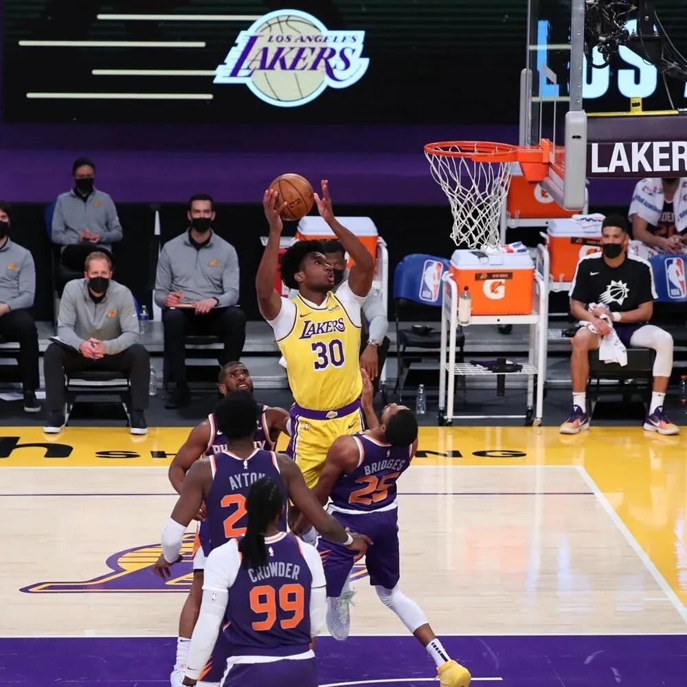 Damian Jones, Los Angeles Lakers vs Phoenix Suns