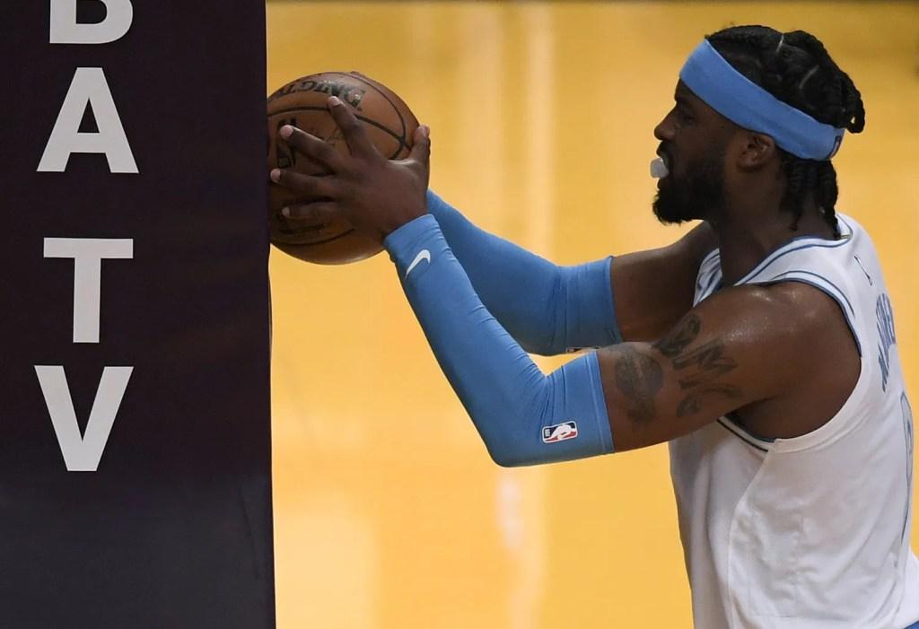 Wesley Matthews, Los Angeles Lakers vs Philadelphia 76ers