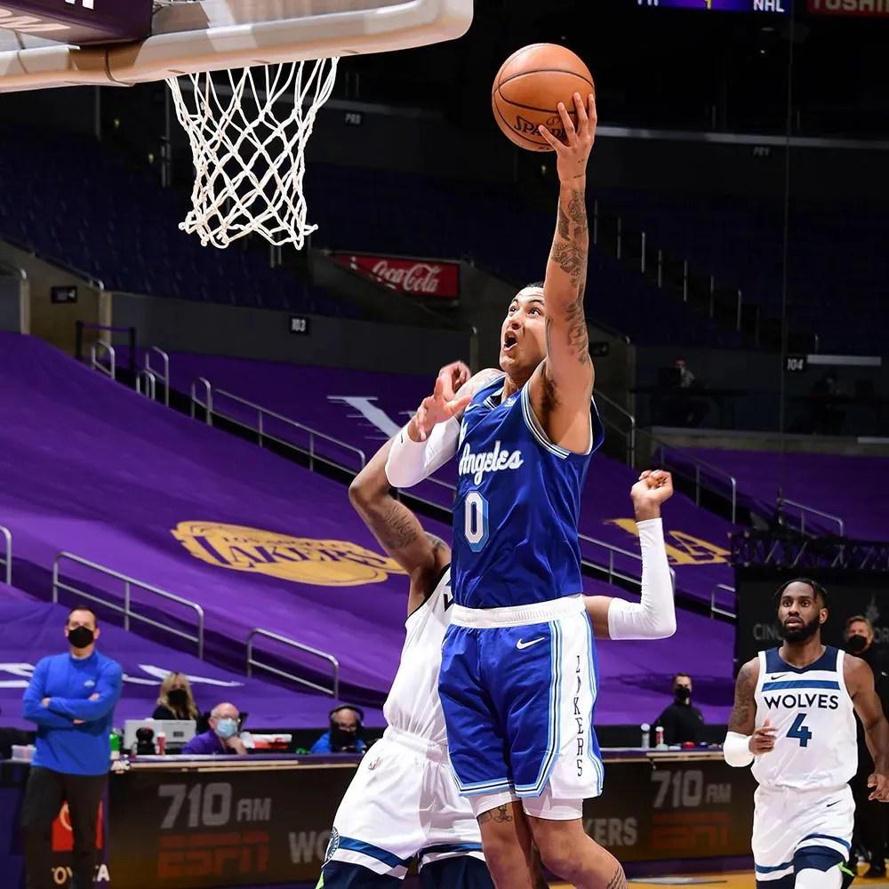 Kyle Kuzma, Los Angeles Lakers vs Minnesota Timberwolves