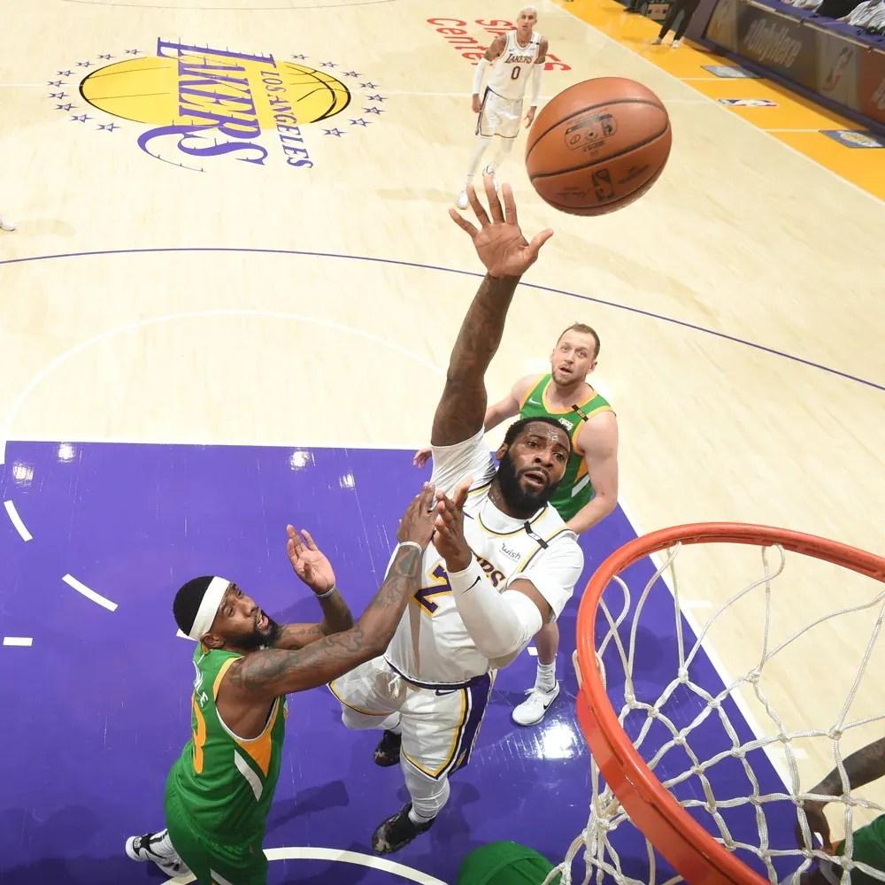 Andre Drummond, Los Angeles Lakers vs Utah Jazz