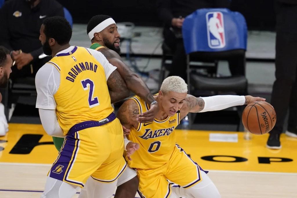 Kyle Kuzma, Los Angeles Lakers vs Utah Jazz