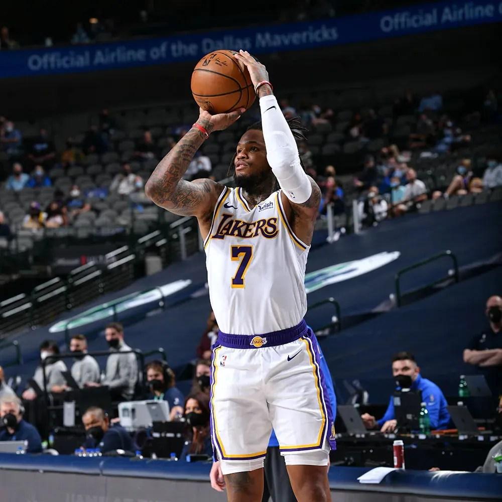 Ben McLemore, Los Angeles Lakers vs Dallas Mavericks