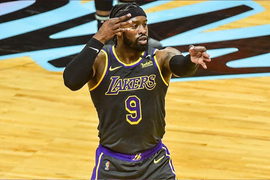 Wesley Matthews, Los Angeles Lakers vs Miami Heat