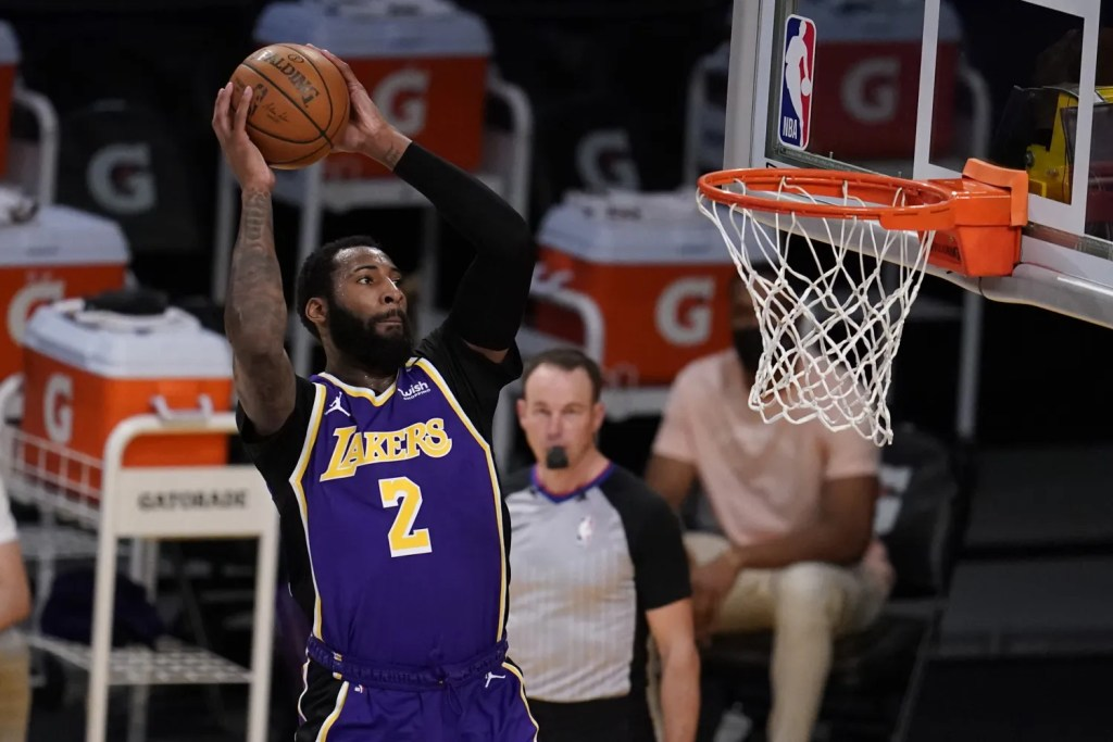 Andre Drummond, Los Angeles Lakers vs Sacramento Kings