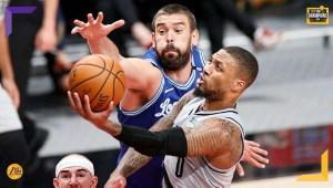 Incubo play-in per i Los Angeles Lakers, che subiscono sconfitta e sorpasso dai Portland Trail Blazers. Davis non basta, troppi errori nel finale.