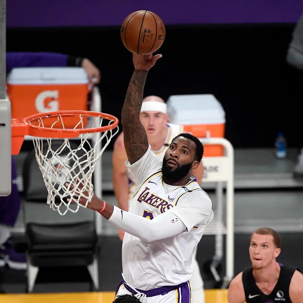 Andre Drummond, Los Angeles Lakers vs Toronto Raptors