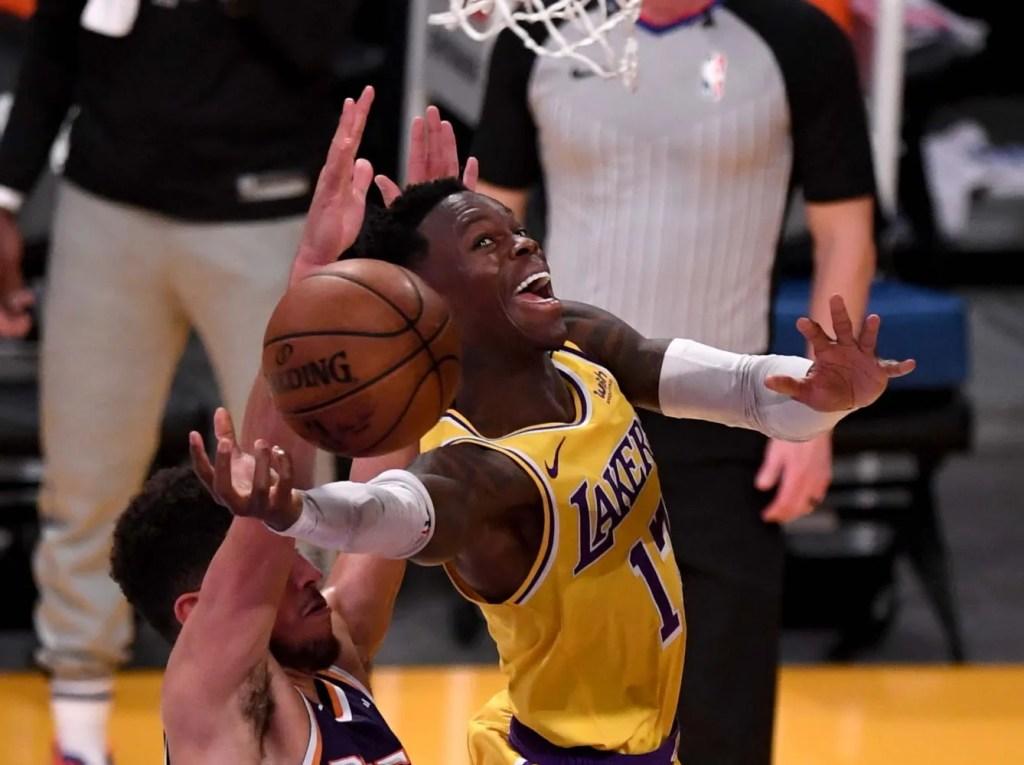 Dennis Schröder, Los Angeles Lakers vs Phoenix Suns
