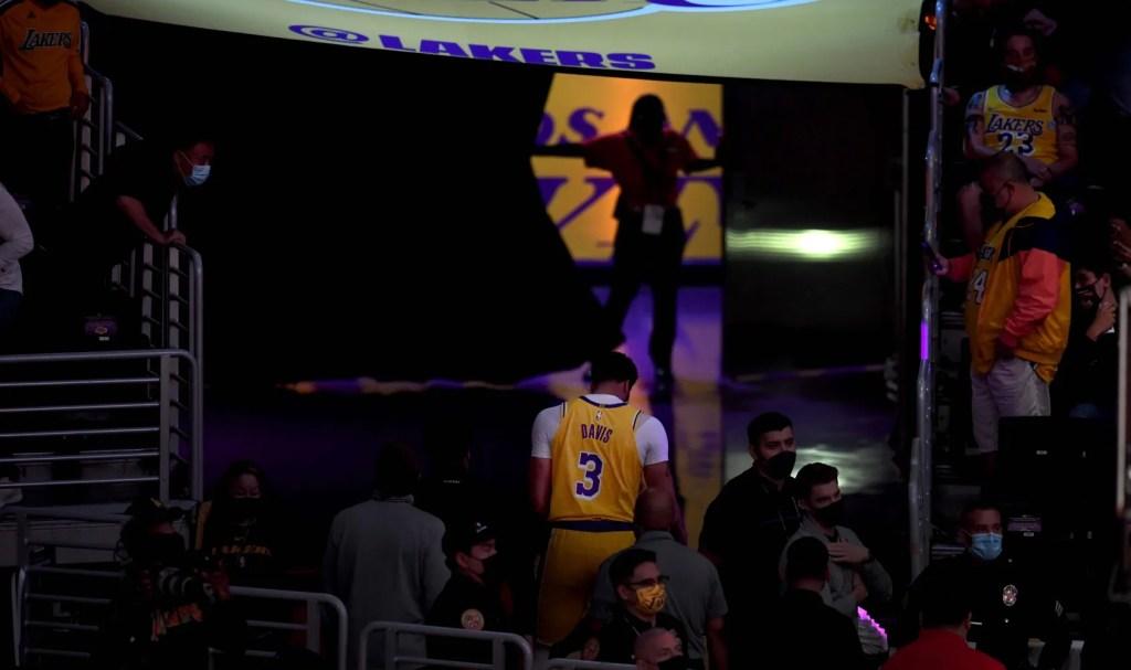 Anthony Davis, Los Angeles Lakers vs Phoenix Suns