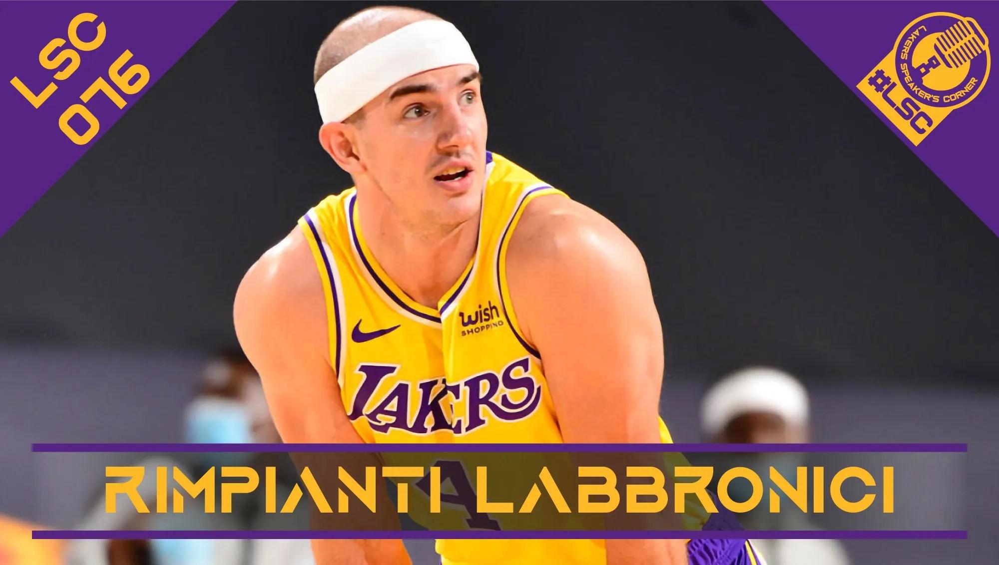 I playoff NBA e i maggiori rimpianti dei Lakers, cosa fare con i giocatori in scadenza e le possibili mosse gialloviola in off-season.