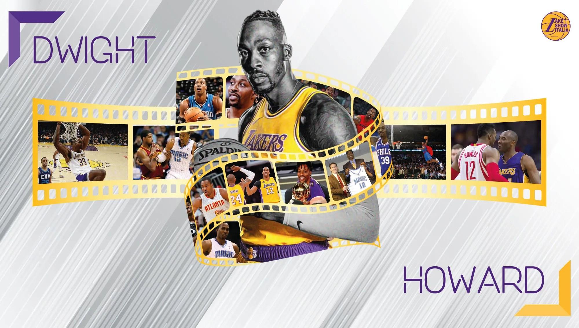 Il terzo ritorno a Los Angeles di Howard. L'obiettivo di Dwight è contribuire nei rinnovati Lakers con rimbalzi, stoppate e tanta energia.