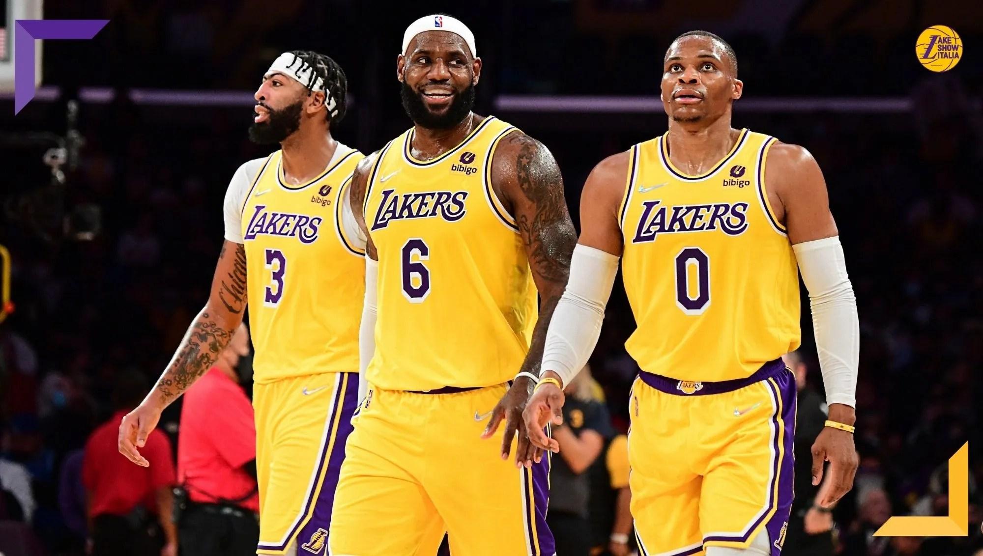 James, Davis e Westbrook per la prima volta insieme. Ma il risultato non cambia, Lakers ancora battuti da Golden State senza Curry e Green.