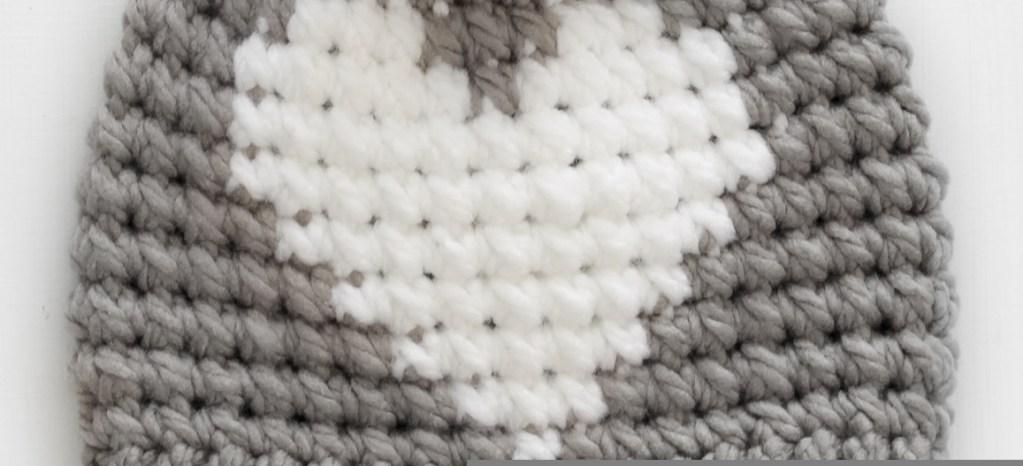 Hunter Crochet Heart Hat – FREE Pattern – Lakeside Loops