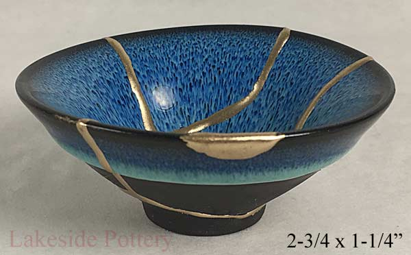 Cracked Bowl Filled With Gold