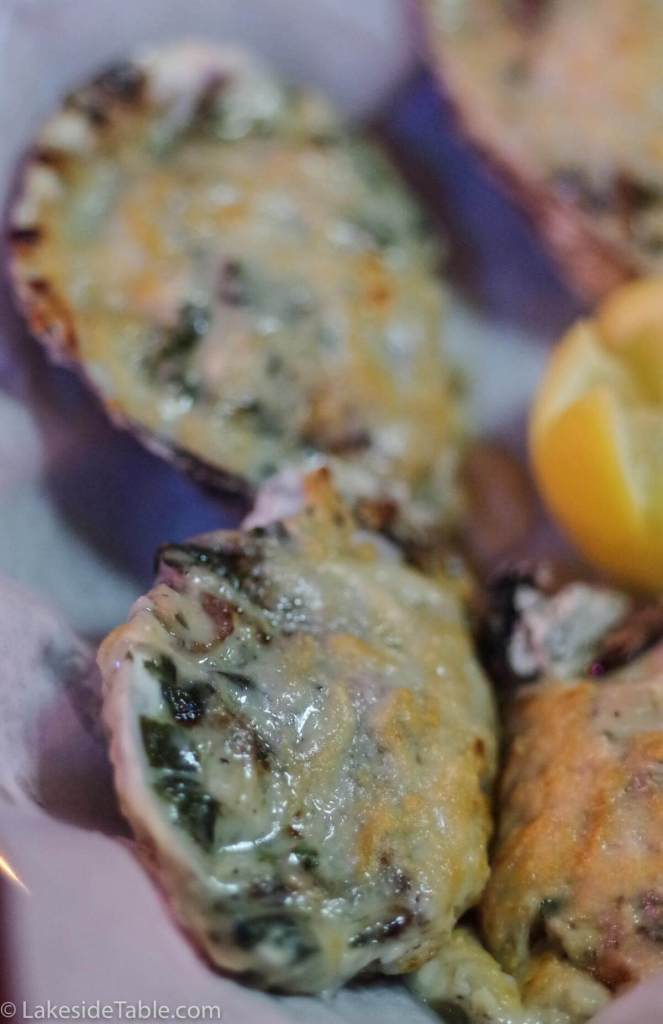 Oysters Rockefeller Low carb Recipes - Inspired by St. Louis's own Broadway Oyster Bar. I seriously can't get enough! | www.lakesidetable.com