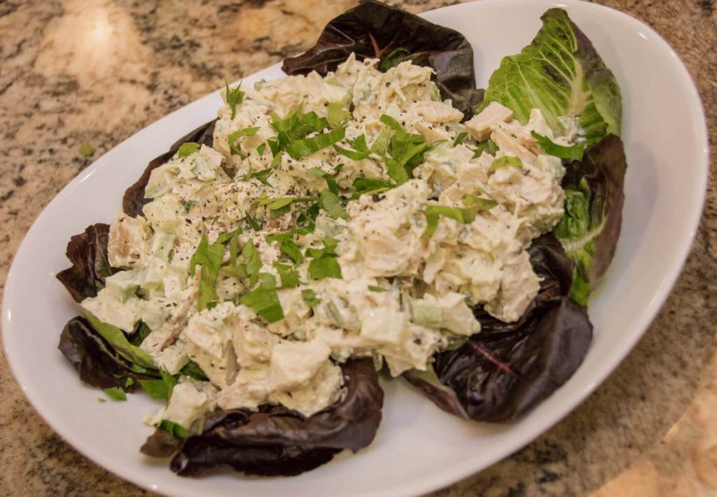 Chicken Salad - The key is in its simplicity letting the roasted flavors to shine through.   www.lakesidetable.com