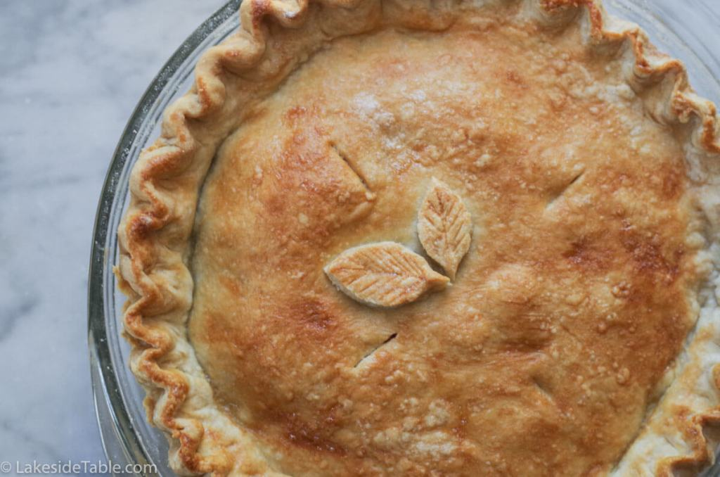 Grandma's homemade pie crust recipe. You won't believe how easy it is to make! | www.lakesidetable.com