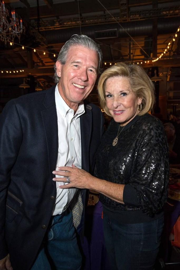 Tom and Cordia Harrington at Rock the Cradle