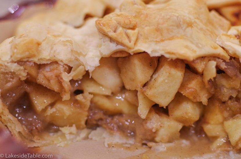 Gluten Free Apple Pie Recipe - Is there anything better than the smell of baking cinnamon & apples? Love it!   www.lakesidetable.com