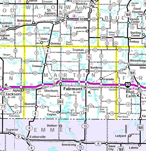Martin County Pop 20 840 Is Just East Of Jackson County It S One Of Six Martin Counties In The U S