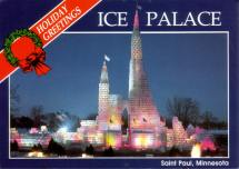 St. Paul Winter Carnival Ice Castle 1986