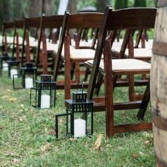 Renting Folding Chairs Ergonomic Chair Hong Kong 4 Reasons Makes Sense For Diy Weddings Lakes Region Tent Fruitwood