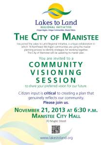 Poster - Manistee City