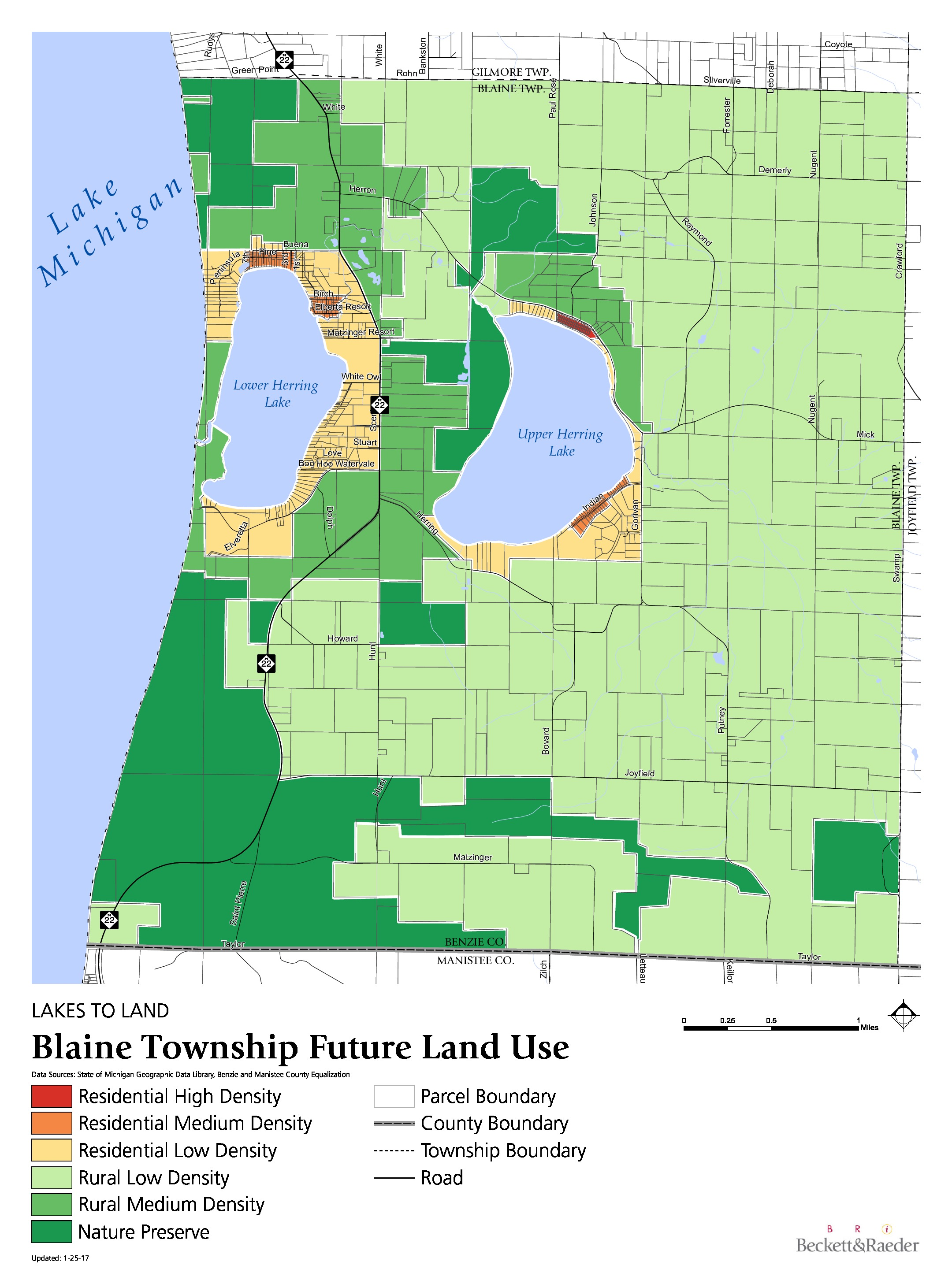Future Land Use - Blaine Township
