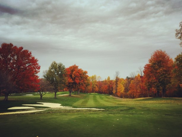 Lake View Country Club Hole #16 Fall